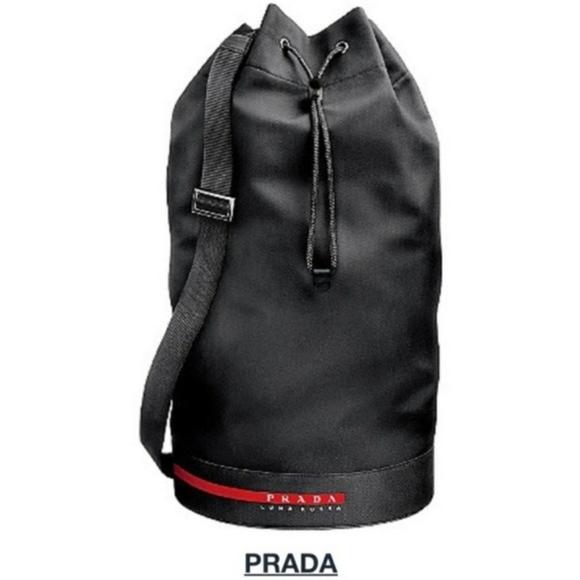 5cb9fbab424899 Prada Bags | Luna Rossa Black Gym Duffle Golf Bag | Poshmark